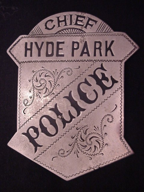 Click on photo for Hyde Park Police